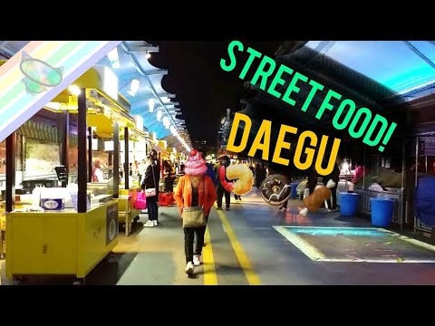 Daegu Night Market - street food