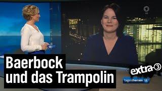 Annalena Baerbock und das Trampolin
