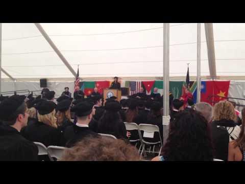 Razan Taha's graduation speech