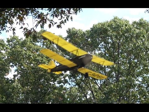 "16"" R/C Pitcairn Fleetwing Flight Compilation"