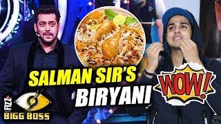 Priyank Sharma On Salman Khan's Chicken Biryani On Weekend Ka Vaar   Bigg Boss 11