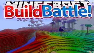 Minecraft: BUILD BATTLE - NATURA w/ xSlayder + iRaphahell !