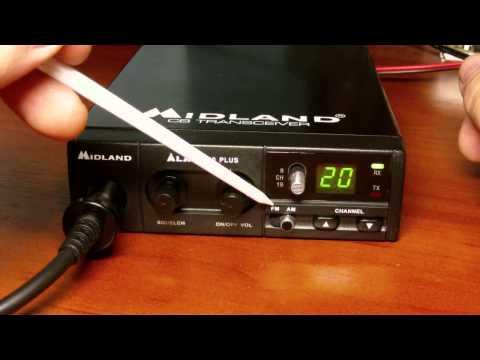 Как настроить радиостанцию мидланд