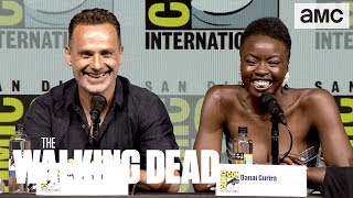 The Walking Dead: 'Danai Gurira on Getting Back in the Saddle' Comic-Con 2018 Panel Highlights