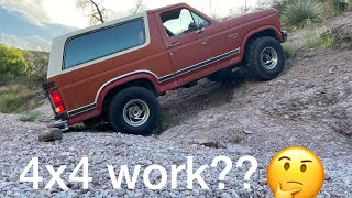 Ford Bronco off road test after 15 years!