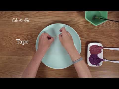 Color Me Mine Silk Screen Technique