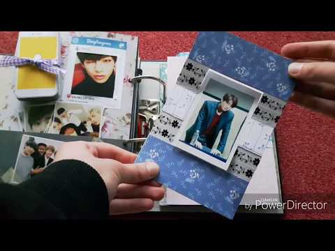 BTS-themed Scrapbook