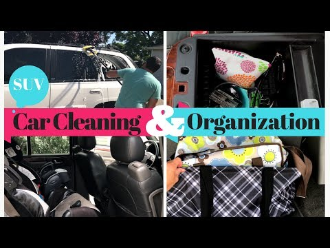 CAR CLEANING & ORGANIZATION | Simple Hacks & Tips