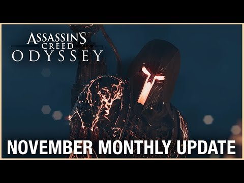 Assassin's Creed Odyssey: November Monthly Update | Ubisoft [NA]
