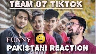 Reaction on Tiktok SuperStar Team07 Mr Faisu Hasnain Adnaan Faiz & Shifu Saddu Famous tiktoks