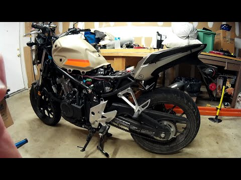 honda cb500x - how to wire accessories - fuse block method