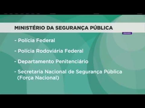 Polícias e OAB apoiam criação do Ministério da Segurança Pública   21/05/2018