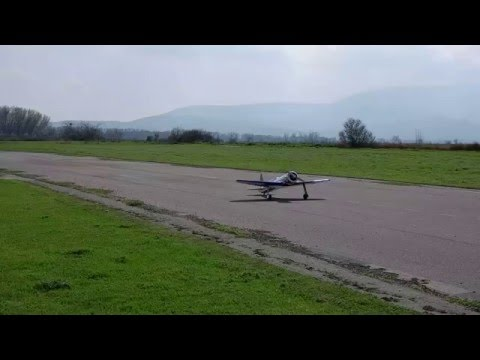 Hughes H-1 RC with Zenoah GT80