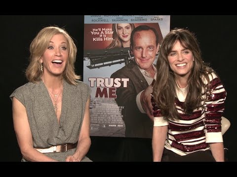 Felicity Huffman and Amanda Peet Interview - Trust Me (2014) JoBlo.com HD