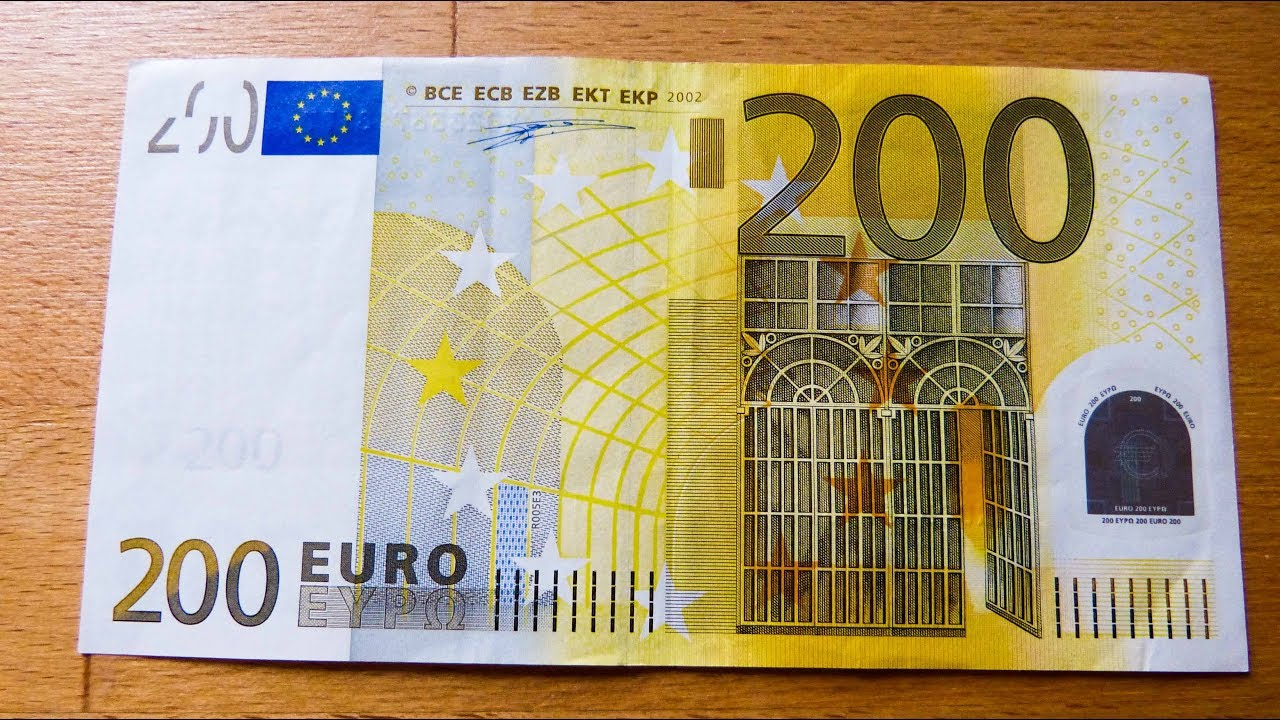 200$ In Euro