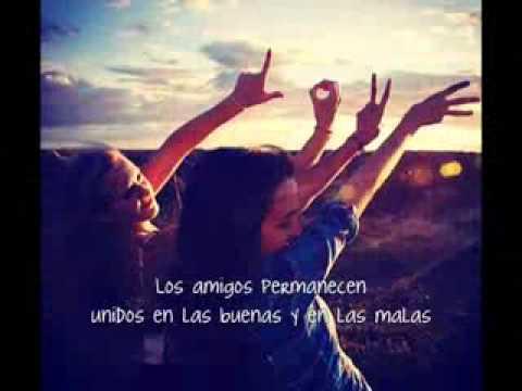 Miley cyrus    True friend ♥♪ en español (Para mi mejor Amiga Candela)