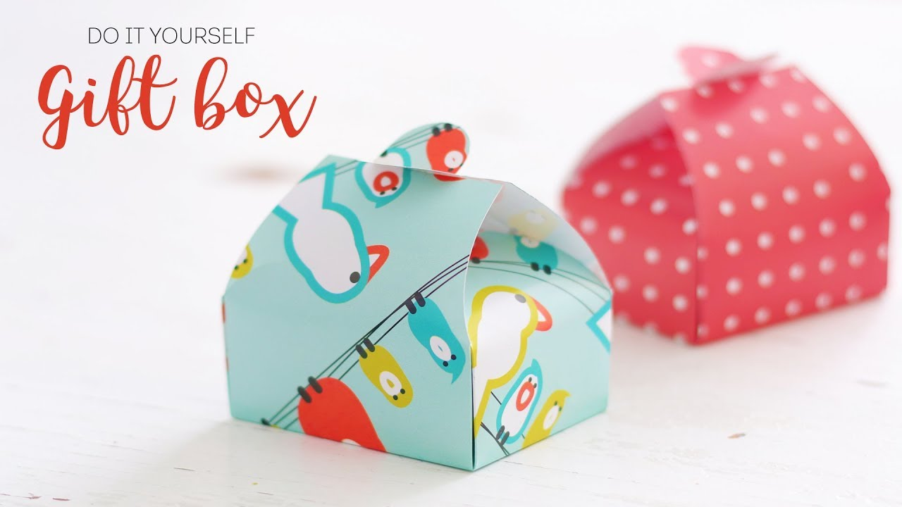 How To Make Gift Box Diy Crafts Handcraft Youtube