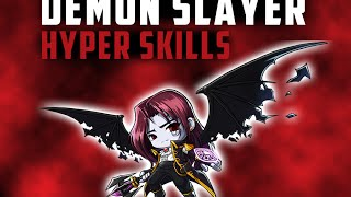MaplestoryGMS: Demon Slayer Hyper Skill Showcase!