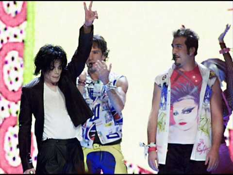 nsync pop with michael jackson