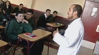 Учитель в Чили ведёт урок рэпом (новости)