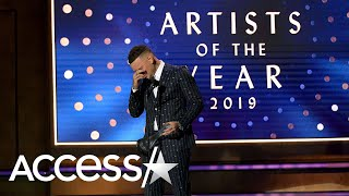 Gambar cover Kane Brown Breaks Down In Tears Over Late Drummer While Accepting CMT Award