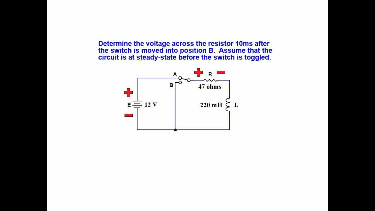 Online Tutorial On Inductor Transient Response Series Rl Circuits Video Animation Simple Electrical Circuit Showing Current Flow By Youtube