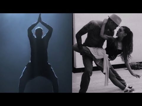 "Chris Brown & Ariana Grande ""Don't Be Gone Too Long"" First Look!"