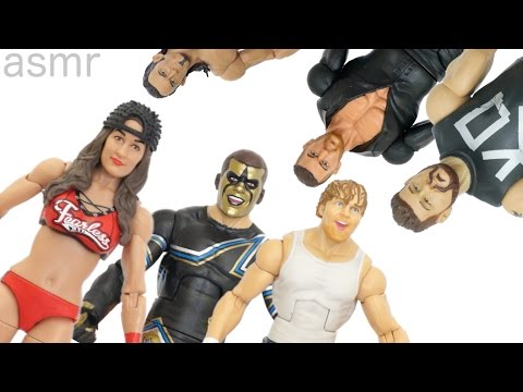 ASMR WWE Best & Worst Figures of 2015!!