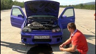 100.000 рублей ушли за один заезд. Volkswagen Golf vs BMW.