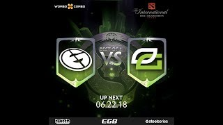 Evil Geniuses vs Optic Gaming | The Internationals 8 | NA Regional Qualifiers