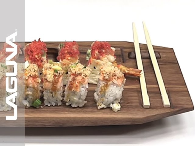 How to Make a Sushi Platter - CNC Project