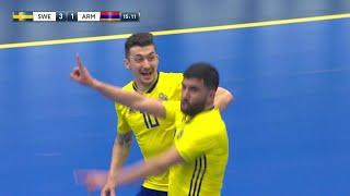 Höjdpunkter: Skön VM-kvalseger för Sverige mot Armenien - TV4 Sport