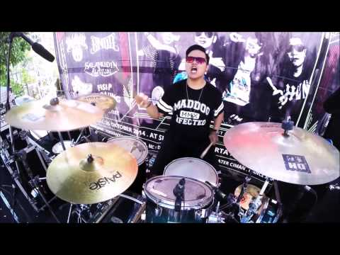 DHANY FAIZAL ( KM09 ) - Intro + Fight For Life ( Drum Cover )