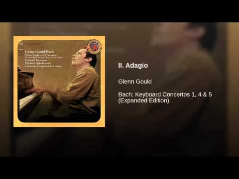 Glenn Gould - Bach Concerto in D Minor (After Alessandro Marcello), BWV 974