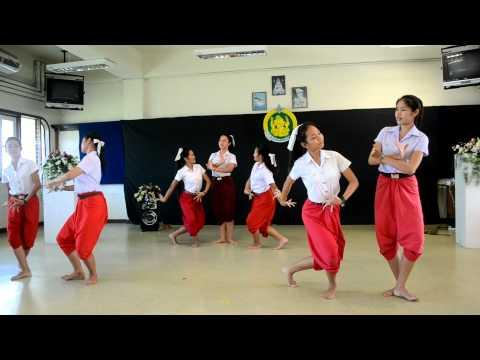 สอบภาษานาฏศิลป์-สาวลาวบ่าวไทย