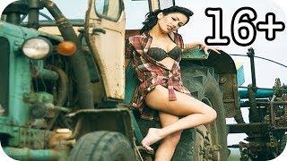 Красиві дівчата на тракторі  Підбірка №2