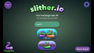 Как играть по сети в slither