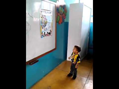 Exposición del trompo alimenticio por niño de 3 años