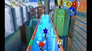 Sonic Heroes Team Sonic: Grand Metropolis