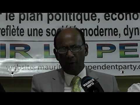 Maurice Info - [Vidéo Intégrale] Congrès Mauritius Independent Party à Quatre Bornes