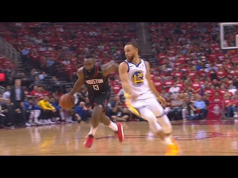 James Harden Crosses Stephen Curry Over! Warriors vs Rockets Game 5