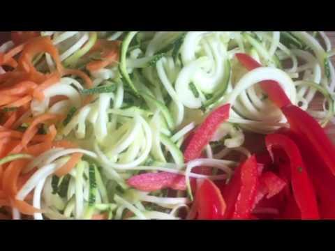 Vitality collective kitchen raw teriyaki noodles