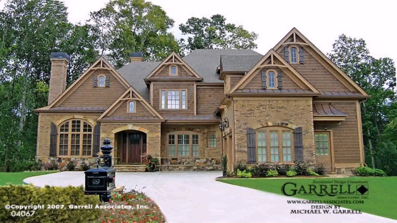 House plans european style homes youtube for European style home builders