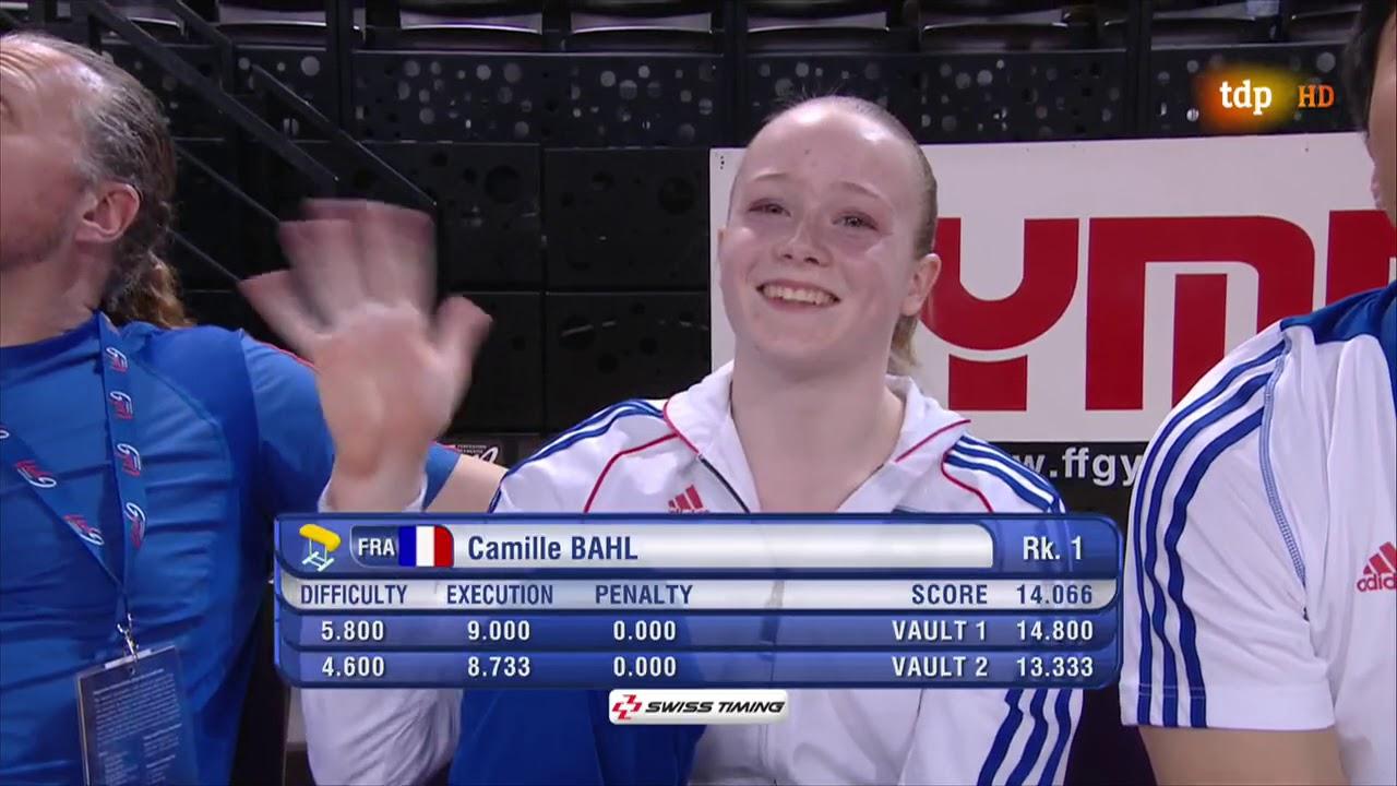Larisa Iordache. 2013 European Championships. EF. VT1