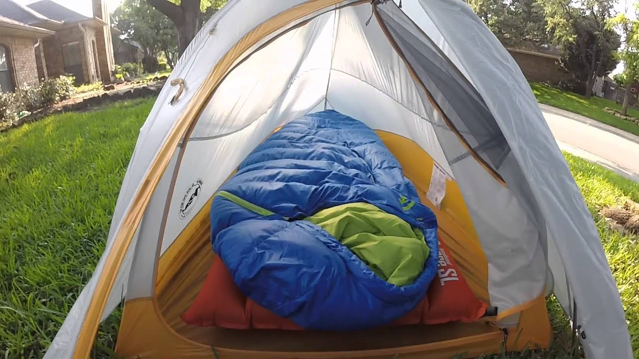 Big Agnes Fly Creek UL1 & Big Agnes Fly Creek UL1 - YouTube