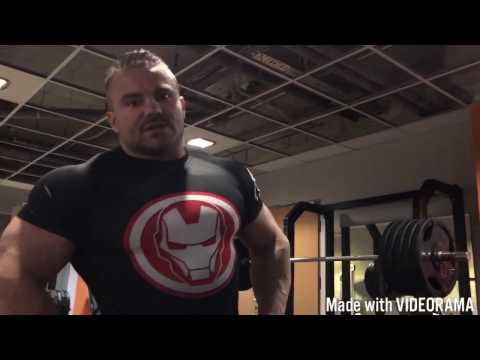Karol Małecki - nogi i 350kg na sztandze - ale lekkie :-)