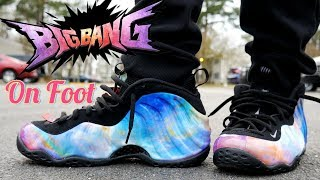 b61a88d89838ee How I lace My Big Bang Foamposite On Foot in 4k Ultra HD 6 29