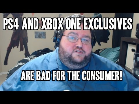 Ps4 and Xbox one Exclusives are Bad for consumers!