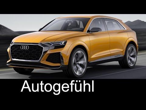 Audi Q8 Sport Concept Exterior & Interior Preview - Autogefühl
