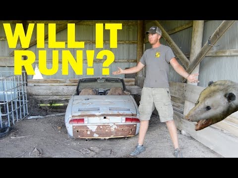 Abandoned Fiat First Start in 30 Years! -- Part 1